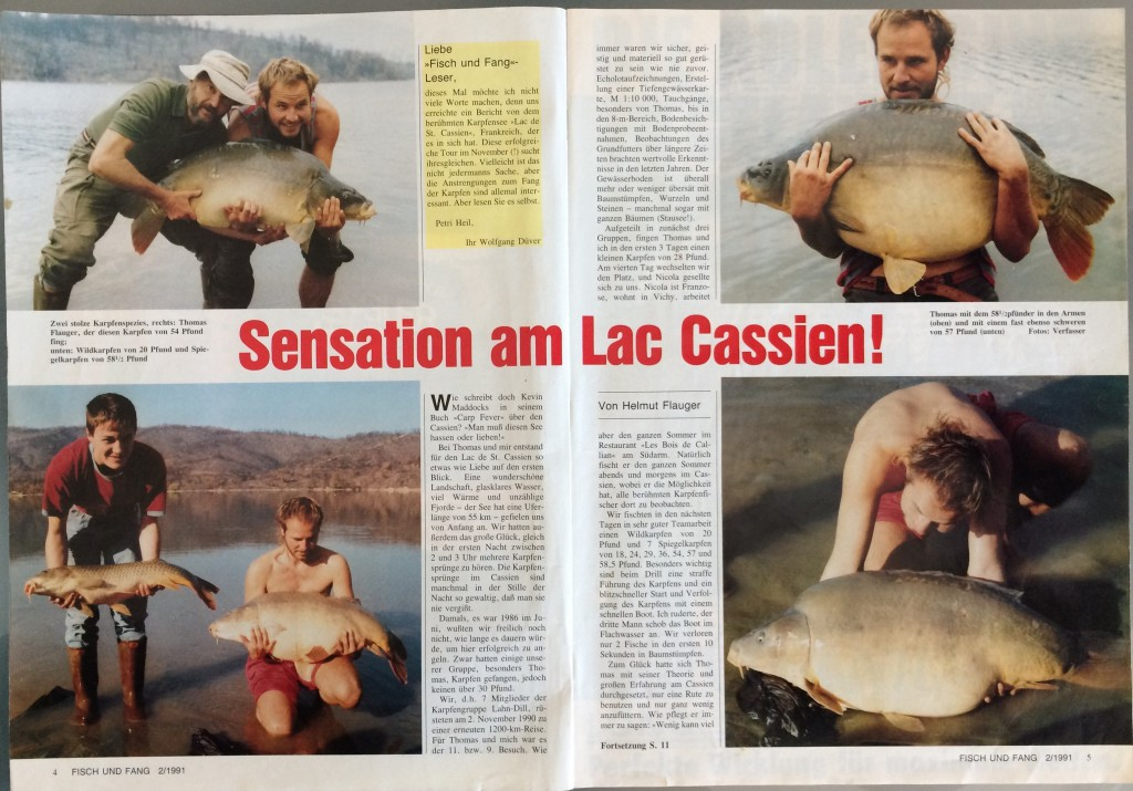 Artikel Fisch und Fang