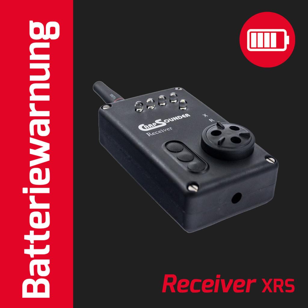 Batteriewarnung XRS Receiver