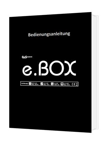 Bedienungsanleitung eBox