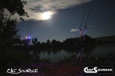 2 Pods bei Nacht